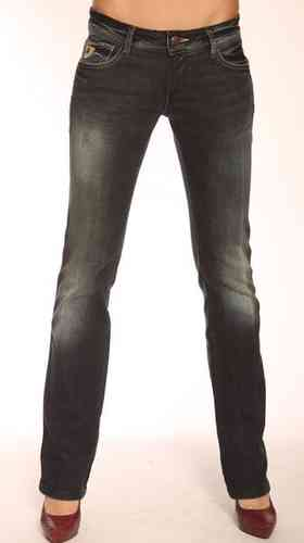 Lois Jeans Pantalon Vaquero Boot Cut Mujer Carolina Blanca-Ly Color 279