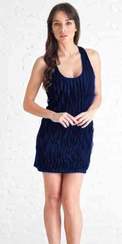 Stix Casual Dress Pr321 1216 Blue