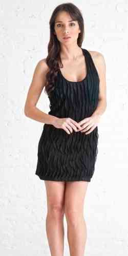 Stix Casual Dress Sc51216 Black