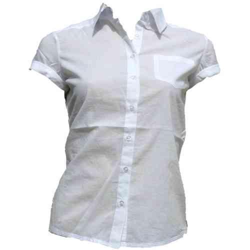 bfd495070de9 2 Weiße Bluse Frau   lois   Cami Whi