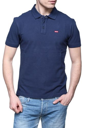 Mens Polo | Polo Basic Levi´s| farvede Polos | Philip Blå Classic