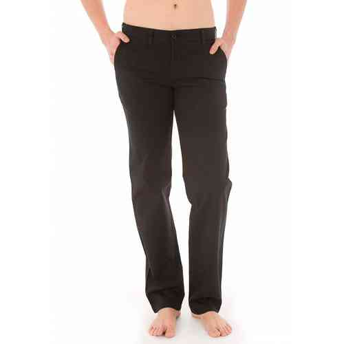 Men's Basic Chino Pants | Lois Chino Trousers | Black Color