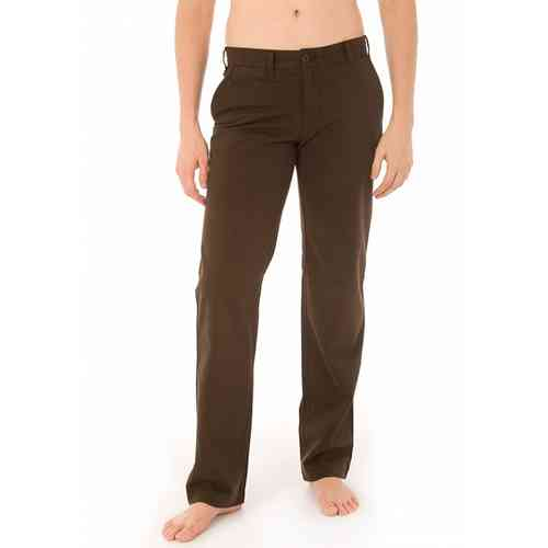 Men's Basic Chino Pants | Lois Chino Trousers | Brown