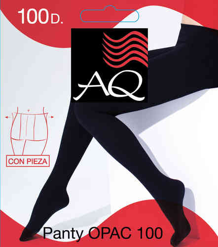 Sox Women | Panty Opac 100 Den. With Parts - Panty Aq