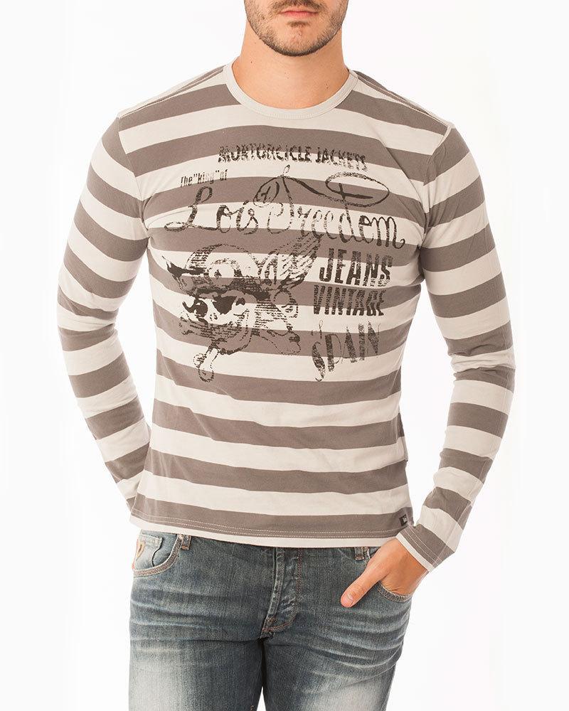9bb38724b5902 Camiseta rayas hombre