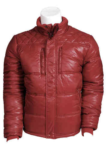 Chaqueta acolchada hombre | Seaport 4500 | color burdeos