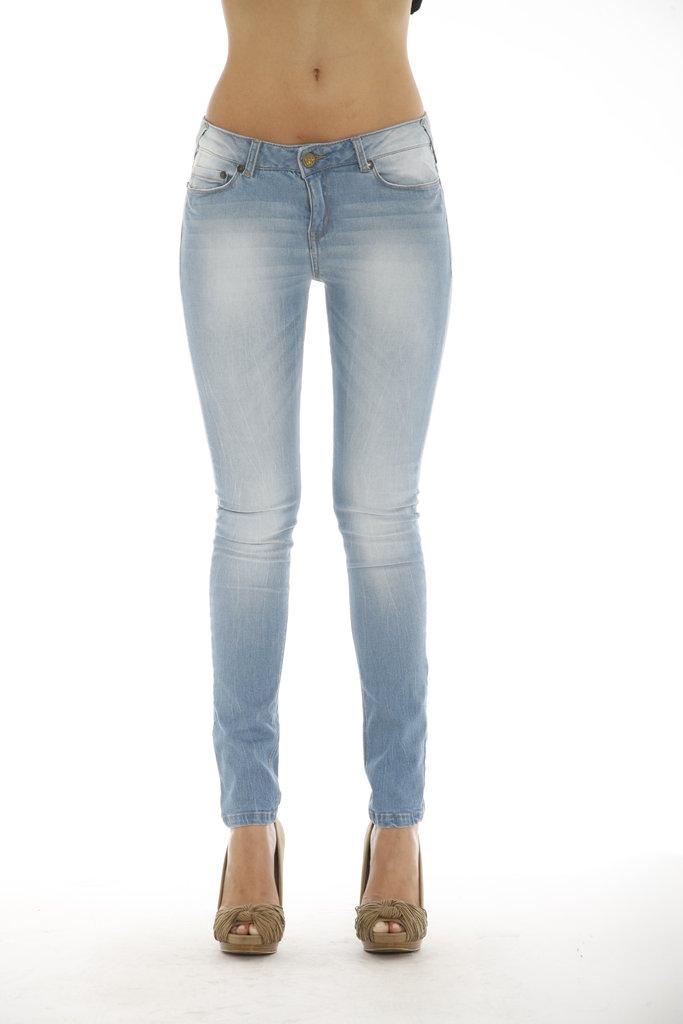 Pantalón slim fit mujer  87b16279d5f6