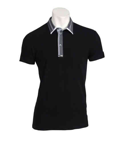 Man Kortermet Polo | Polo Dress | Color sort | 9849