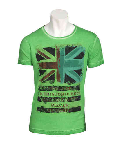 T Man | Flag Pattern | Colore Verde | 9870