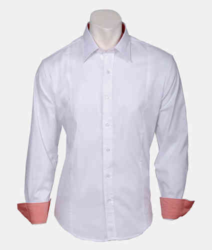 man shirt | Summer shirts | white | 0830