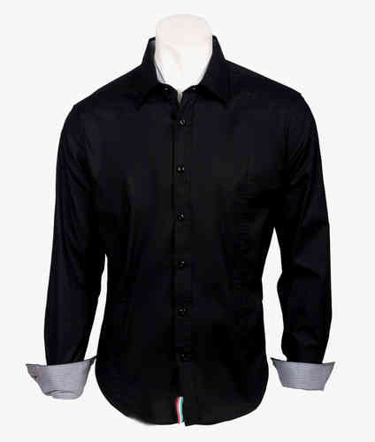 Man Shirt | Summer Shirts | Color black | 0830