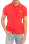Mens Polo | polo basic Lois | Polo Kleur | Red Polo