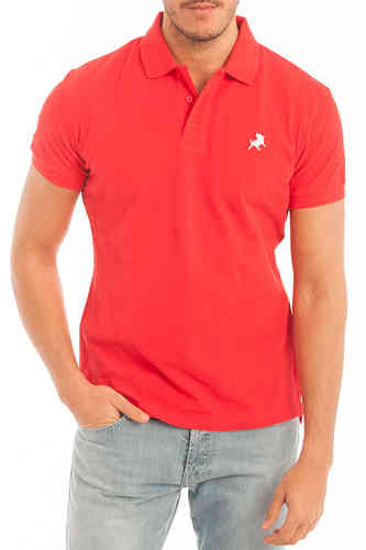 Mens Polo | Polo Basic Lois | Polos Color | Red Polo