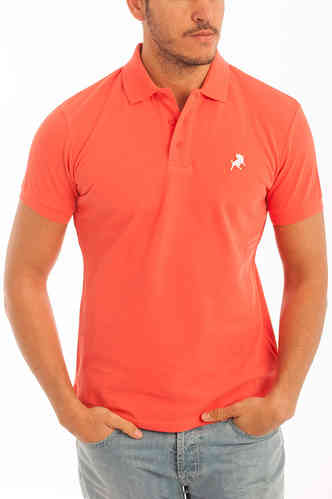 Mens Polo | Polo Basic Lois | colored Polos | Polo Salmon