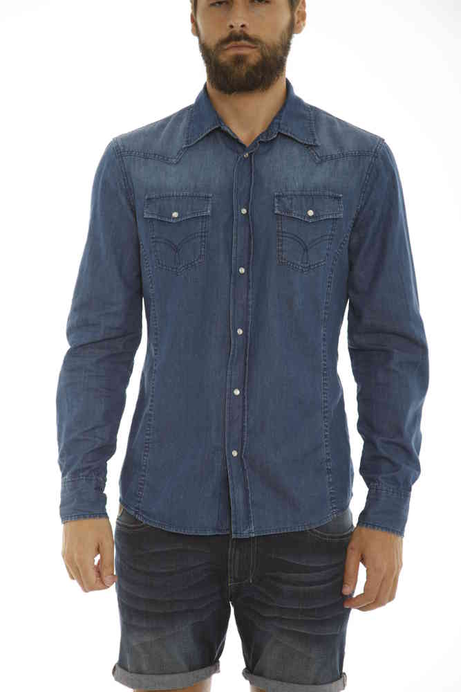 Texas Denim Shirts Lois Man Shirt wCwfqYA