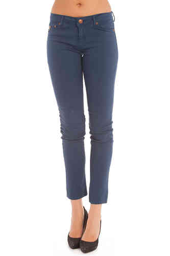Lois Skinny Pants Women | Tena Lua | Colore Azulon