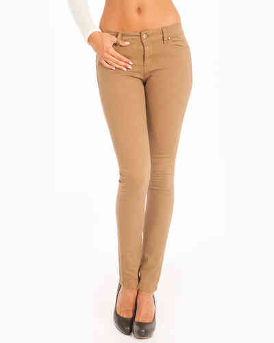 Lois Skinny Pants Women | Tena Cota | Color Earth