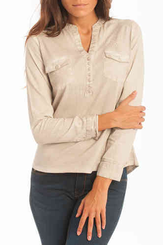 Women Blouse Beig | Lois | Sonorama Obk 720