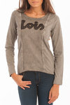 Lois T Women | Long Sleeve | Denn Mark | gray