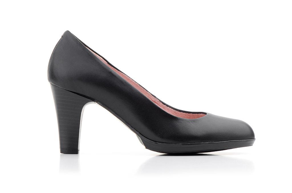 Negro Salón Mujer Plataforma Tacón Piel Fabricado En España Zapatos ExHnqZwAq