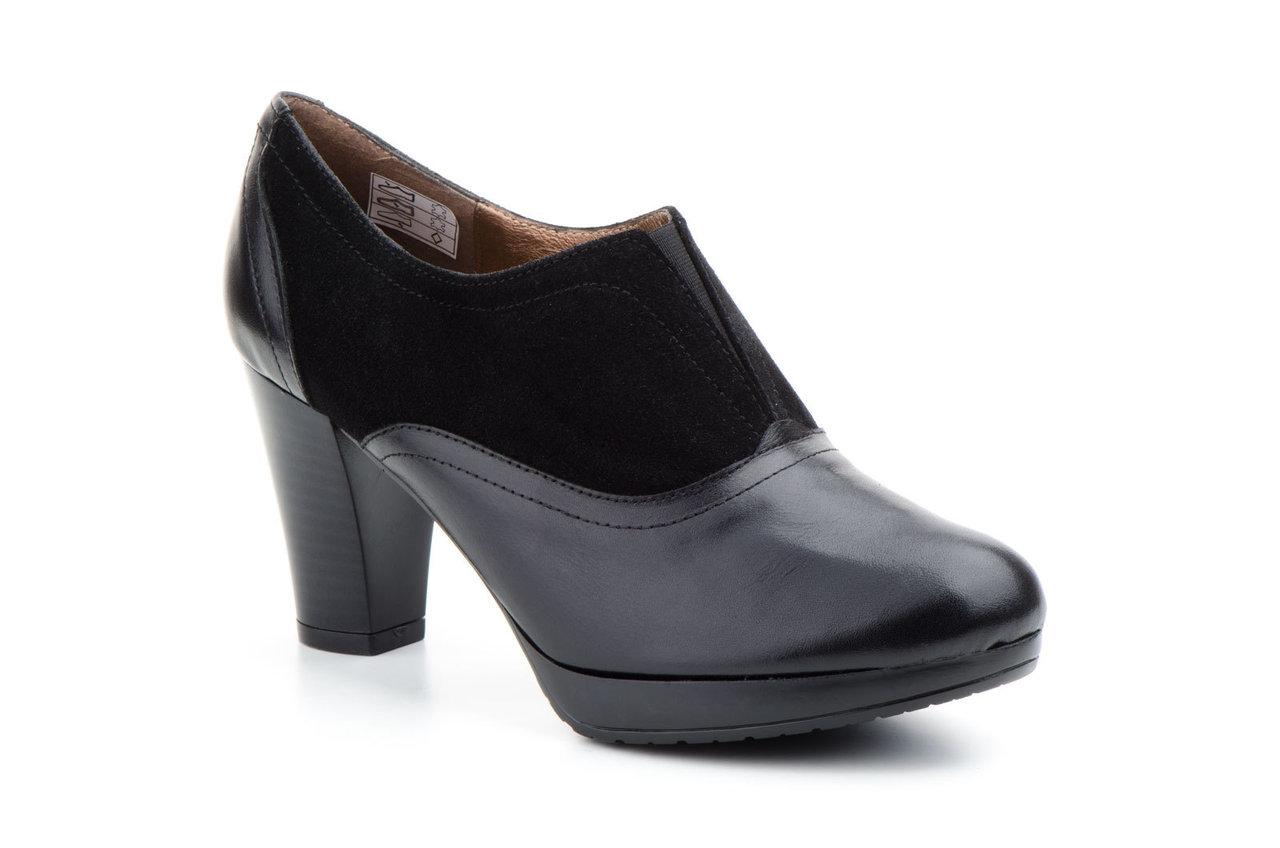Elásticos Marrón Zapatos Abotinados Piel Mujer Plataforma Tacón xZZO46Hwq