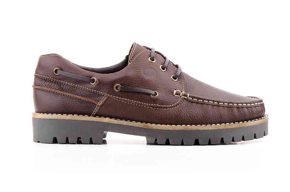Zapatos Kiowa Hombre Piel Cuero Cordones Náuticos  0181dd017300b