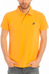 Mens Polo | polo basic Lois | gekleurde Polos | Philip Classic Orange