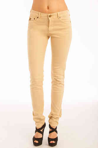 Skinny Pants kvinne Lois | Cota Tena | Color Earth | Elastikk