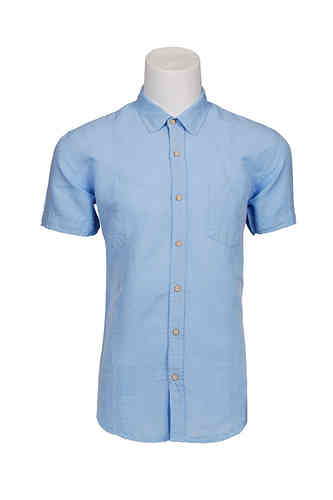 Blauw shirt man | Seaport shirt | 332.627