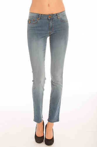 Woman slim fit bukser | Jeans Lois | Lua Freeze 707