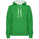 Capuche femme sweat | SU1068 | Kelly Green Couleur