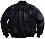 Chaqueta Hombre  | 100109 | CWU Leather | 03 | Alpha Industries