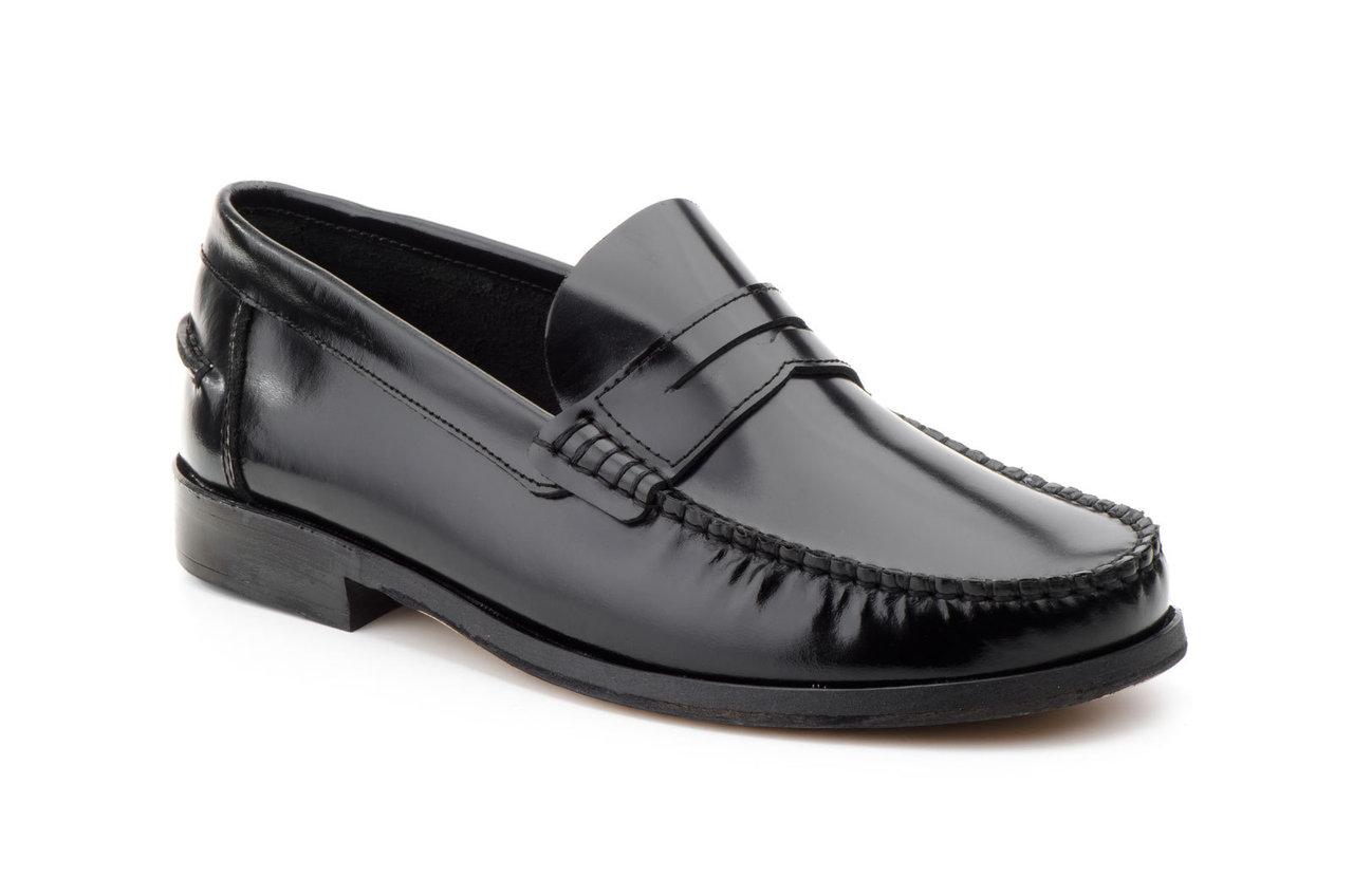 skor med lädersula