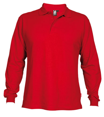 Polo man | Long sleeves | PO5009 | Red