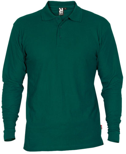 Polo homme | Manches longues | PO5009 | Green Bottle