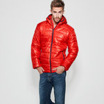 Man wattierte Jacke | Red | (RA5081)