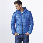 Man wattierte Jacke | Electric blue | (RA5081)