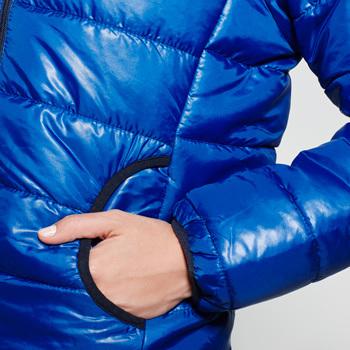 Chaqueta acolchada Mujer | Color azul eléctrico | (RA5082