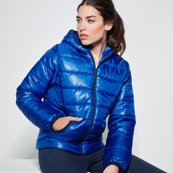 Padded jacket Women | Electric blue | (RA5082)
