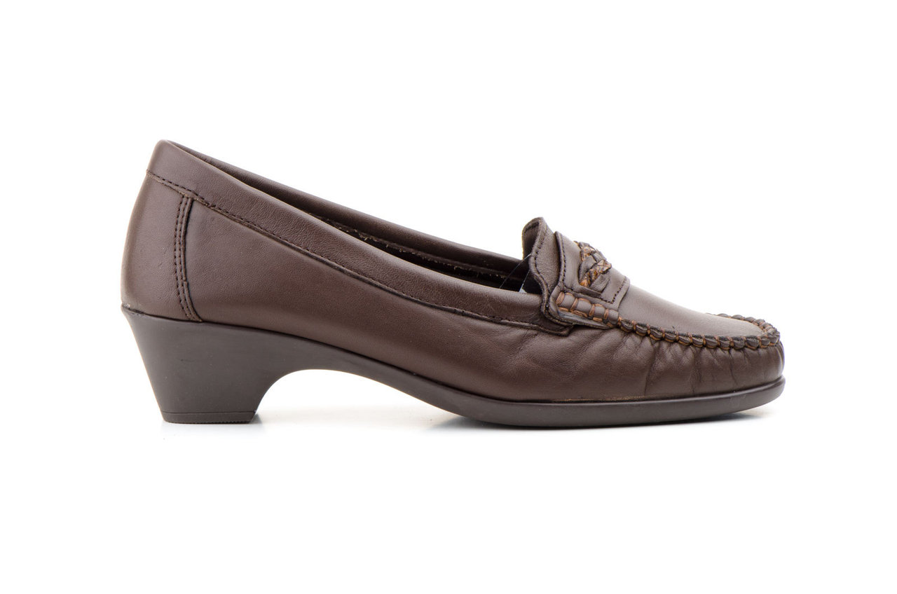 Mujer2061 Fabricado En España Zapatos Kiowa Marrón IWYEHD29