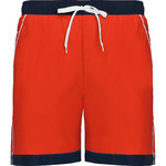 Bermuda swimsuit man | BN6717-6055 | Red / Navy