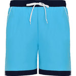 Bermudes maillot de bain homme | BN6717-1255 | Turquoise / Marino