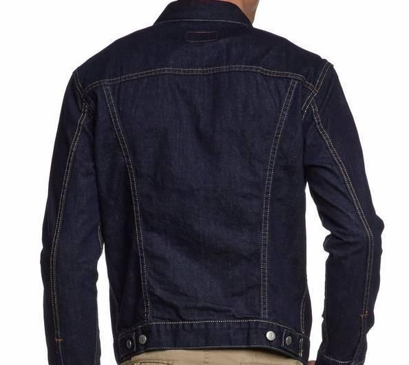 ny hög webbutik Los Angeles Levi´s | Grundläggande jeansjacka Man | 72334-0147 | mörkt