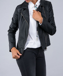 Jacket Women | Tiffosi | 10016750 | musta