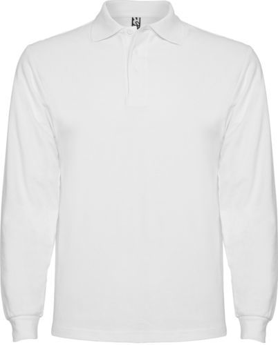 Polo homme | Manches longues | PO6635 | blanc