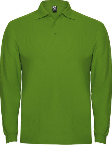 Polo homme | Manches longues | PO6635 | herbe verte