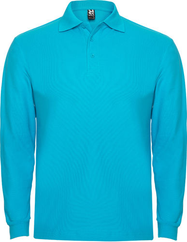 Polo man | Long Sleeve | PO6635 | turquoise