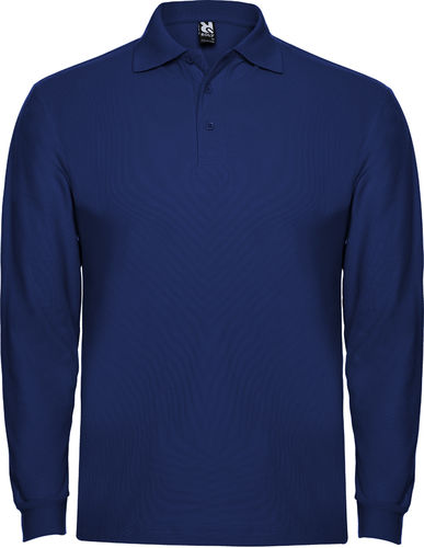 Polo homme | Manches longues | PO6635 | royal