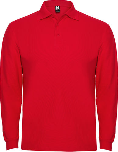 Polo man | Long Sleeve | PO6635 | Red