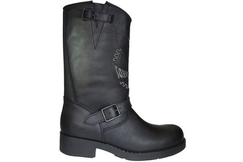 Man Biker-Stiefel | Johnny Bulls Original Black 17828